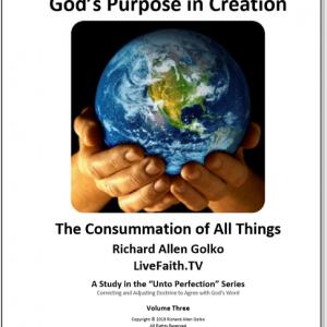 God's Purpose in Creation -- Golko