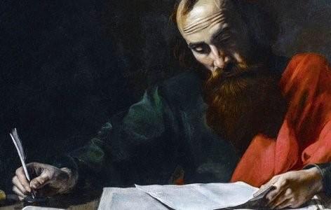 The Apostle Paul, writing
